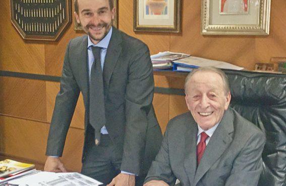 Luciano Pensante con Angelo Romano
