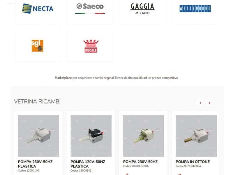 Il nuovo portale e-commerce di Evoca Group