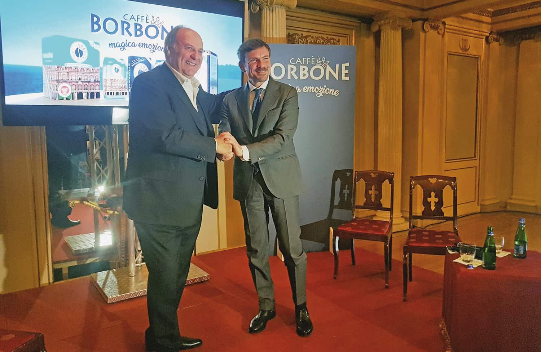 Caffè Borbone e Gerry Scotti: una magica emozione