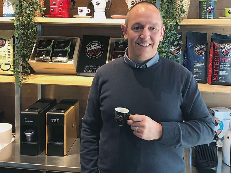 Caffè Vergnano sempre più Vending